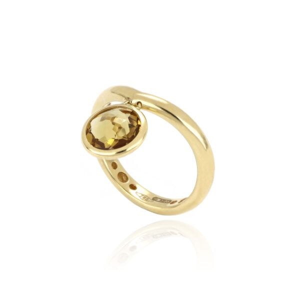 LUNA RING WITH CHARM