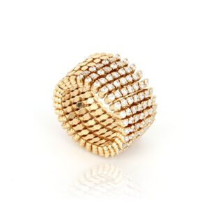 Transformable ring to bracelet by Serafino Consoli